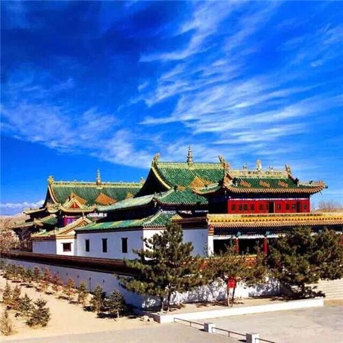 内蒙古鄂尔多斯准格尔召旅游区工程