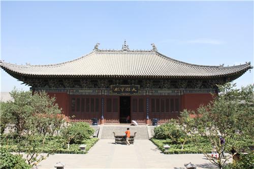 大同法华寺修复工程