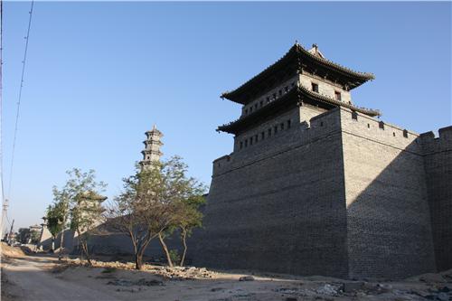 大同古城东、南、北城楼门楼复建工程