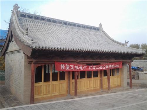 阳高云林寺保护修缮工程