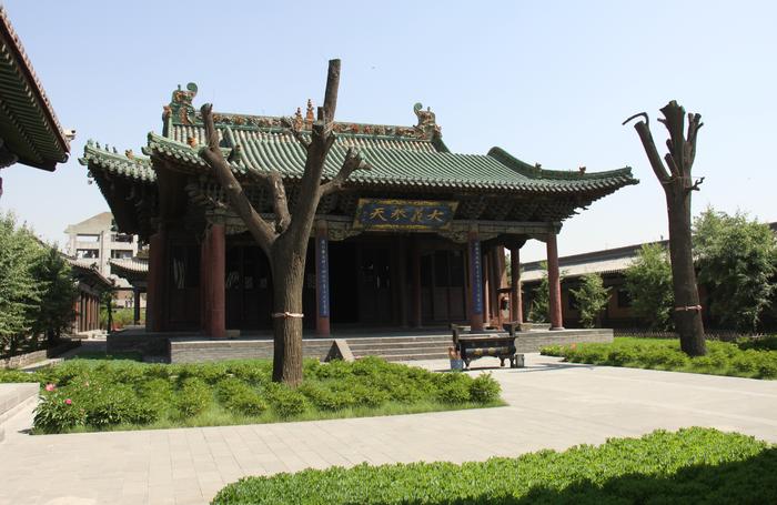 大同关帝庙修缮工程